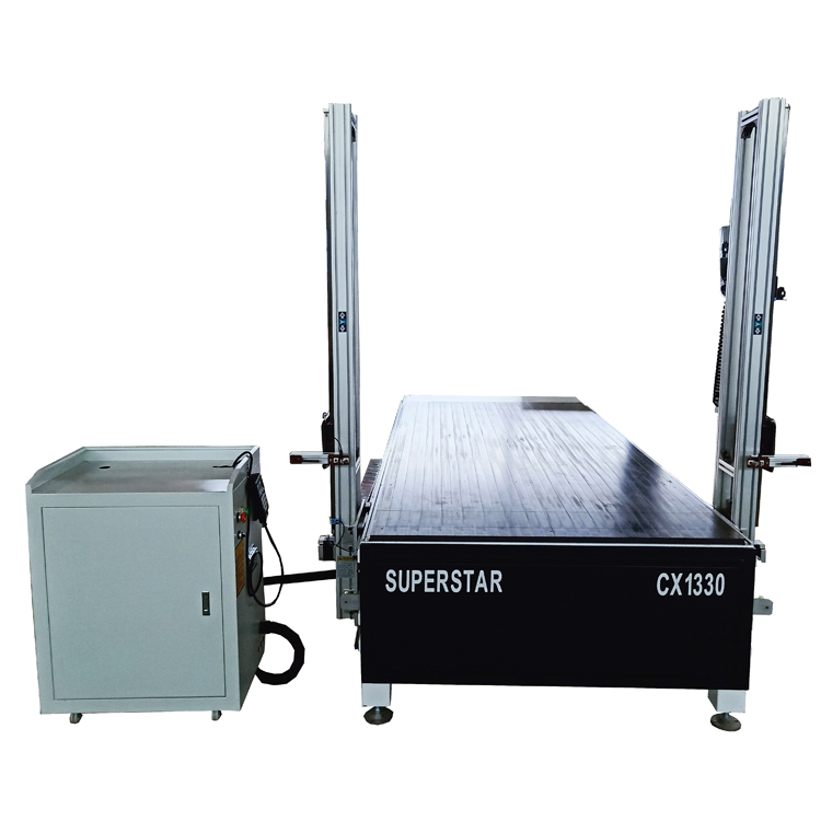 Superstar CX-1330 hot wire foam cutting cnc machine